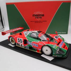 Super TSM 1:12 MAZDA 787B #55 LE MANS 1991 24Hrs WINNER LTD 999 TSM151201 Models