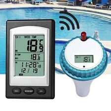 Professional Wireless Digital Swimming Pool SPA Floating Pool Thermometer Tool