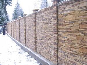 Concrete 3D Molds Stone Mold Plaster Cement Plastic Mould Wall Tiles Path Brick