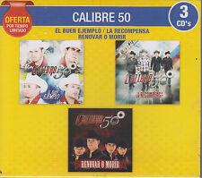 CD - Calibre 50 NEW 3 CD's Oferta El Buen Ejemplo FAST SHIPPING !