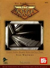 Old Time Gospel Piano Music Book Classic Quartet Songs for Solo Piano