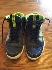 Boys Reebok High Top Basketball Shoe Size 3.5 Youth EUC!