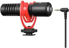 More details for boya by-mm1+ on camera super-cardioid video shotgun condenser microphone 3.5mm