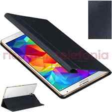 custodia Book Cover originale Samsung Galaxy Tab S 8.4 nero smart case T705