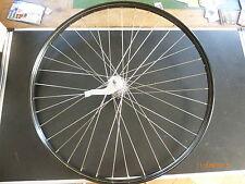 1x neues hinterrad mit schwarzer 26x1x1/2  alu felge, liniert mit rücktrittnabe