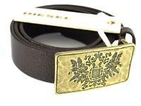 """DIESEL Leder Designer Gürtel """"BALES"""" Leather Belt  85cm 29mm 00SK00 #34"""