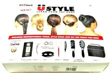 NEW IN BOX ! SCUNCI U STYLE HAIR STYLING SET BOOKLET & INSTRUCTIONAL VIDEO