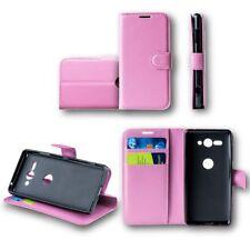 Para Xiaomi Redmi Note 5 Cartera de Bolsillo Premium Rosa Funda Estuche