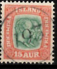 Iceland Number cancel #193 used in Kroksfjardarnes