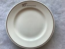 Turf Catering Company Vintage 7� Restaurant China Plate, Syracuse China