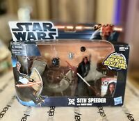 Star Wars Sith Attack Speeder with Darth Maul - Still in box, mint