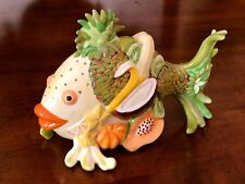 Westland Giftware Fish Decor Outta Water Fruit Fish Collectible
