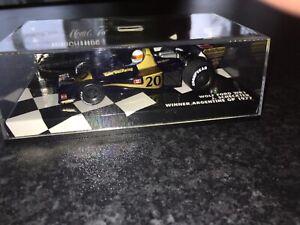 Minichamps 1/43 Wolf Ford WR1 Scheckter 1977 F1