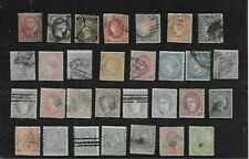 Spain old stamps mix used