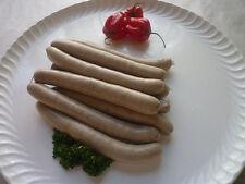 (12,49€/kg) 10 Hirsch Bratwurst / Rostbratwurst ohne Zusatzstoffe,Hirschfleisch