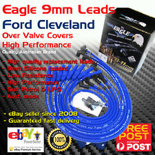 Eagle 9mm Ignition Spark Plug Leads 8cyl Fits FORD CLEVELAND 302 351 Blue
