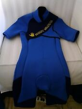 Body Glove Shorty Spring Wetsuit Size Small Blue