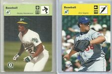 2005 Leaf - ERIC GAGNE - Sportscaster Yellow - DODGERS #d 05/15