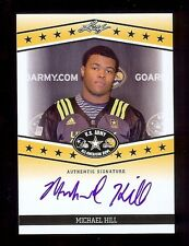 MICHAEL HILL - Ohio State OSU - 2013 Leaf Army TOUR Certified AUTOGRAPH RC