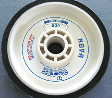 "rle 6"" NOVA GENUINE DIAMOND PACIFIC SANDING WHEEL, for GENIE, 600 GRIT"