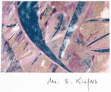 abstraktes Gemälde - M.S. Kiefers Berlin - artprice modern abstrakt Bild Unikat
