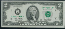 $2 2003 GEM CU STAR NOTE ~LOW 5-DIGIT SERIAL NUMBER SUPER SHORT RUN ~ C* BLOCK