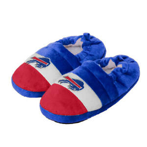 Buffalo Bills NFL Boys' Color Block Slippers, Size Small (8/9), New With Tag
