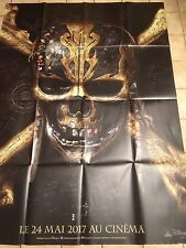 "Affiche 120x160 ""Pirates Des Caraïbes 5""/vengeance De Salazar/Depp"