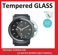 Premium 0.3 mm Tempered Glass Film Screen Protector for LG WATCH SPORTS (2017)