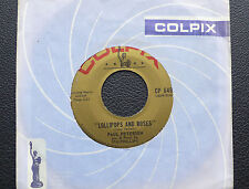 "7"" Paul Petersen - Lollipops and Roses - US Colpix"
