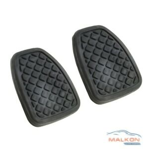 2 x BRAKE & CLUTCH PEDAL PADS FOR SUBARU IMPREZA FORESTER LIBERTY XV 36015GA111