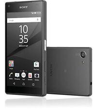 Sony  Xperia Z5 Compact E5823 / 32GB - Schwarz + 200 GB Micro SD on bord