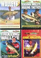 Walleye Fishing Live Bait Seasonal Moves Jigging Trolling 4 DVD Lot NEW