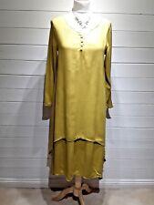 BNWT Suyan Dress ~ Size 12~ Mustard yellow ~ Long Sleeve ~ Casual ~ 1794