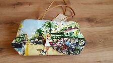 """Señoras BNWT """"bueno toteables wearable art"""" chicas con motocicletas Bolso Bolso de mano"""