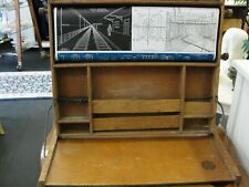 Antique Circa 1920's Lewis Myers Childs Foldout desk