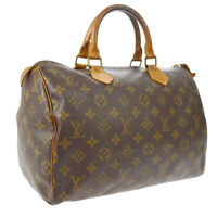 LOUIS VUITTON SPEEDY 30 HAND BAG PURSE MONOGRAM CANVAS M41526 VI0923 A52396