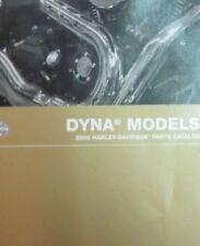2008 Harley Davidson DYNA MODELS Parts Catalog Manual Brand New 2008