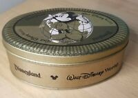 Vintage Tin - Mickey Mouse - Disneyland Walt Disney World Chocolate Candy -Empty