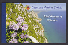 Gibraltar 2004 Definitive Prestige Booklet Wild Flowers Orchids Poppies Fennel