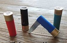 Assorted Color 12 Gauge Shotgun Shell Pocket Folding Knife Bullet Shot Gun Ammo