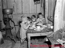Depression Era Xmas Dinner, Smithfield, Iowa 1936-Historic Christmas Photo Print