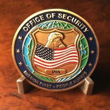 RARE DIA Defense Intelligence Agency Offie of Security Challenge Coin