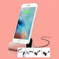 Desktop Charger Stand Docking Station Sync Dock Cradle For iPhone7 5s 6 6s Plus!
