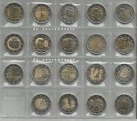 LUSSEMBURGO 2 EURO COMM. E COINCARD DAL 2004  FDC SCEGLI QUELLO CHE TI SERVE
