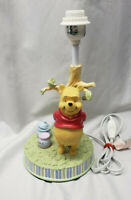 Sincerely Classic Winnie the Pooh Nursery Lamp Tree Hunny Pot Baby Infant