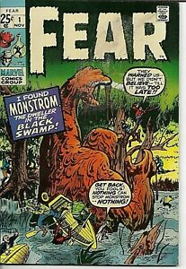 Fear #1,2,3,4,5,6,7,8 & 9 Silver Age Marvel Horror/Complete Run/Jack Kirby/Ditko