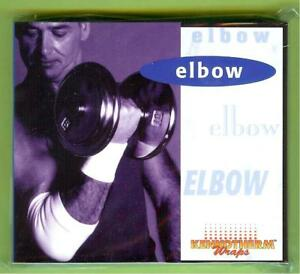 NIKKEN KENKOTHERM ELBOW WRAP WHITE SIZE LARGE LG #1743 - NEW IN PACKAGE
