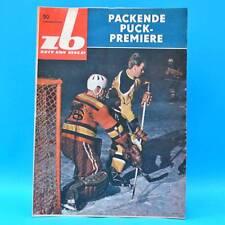 DDR Zeit im Bild ZB NBI 50/1963 John F. Kennedy Eishockey Kuba Kristallglas