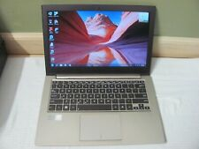 ASUS ZENBOOK 13.3 INTEL i3 2ND G 1.40 GHZ 2XHDD SSD 32 BUILD IN 500 GBSATA 4 GB